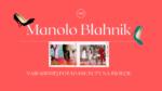 Manolo Blahnik tło posta