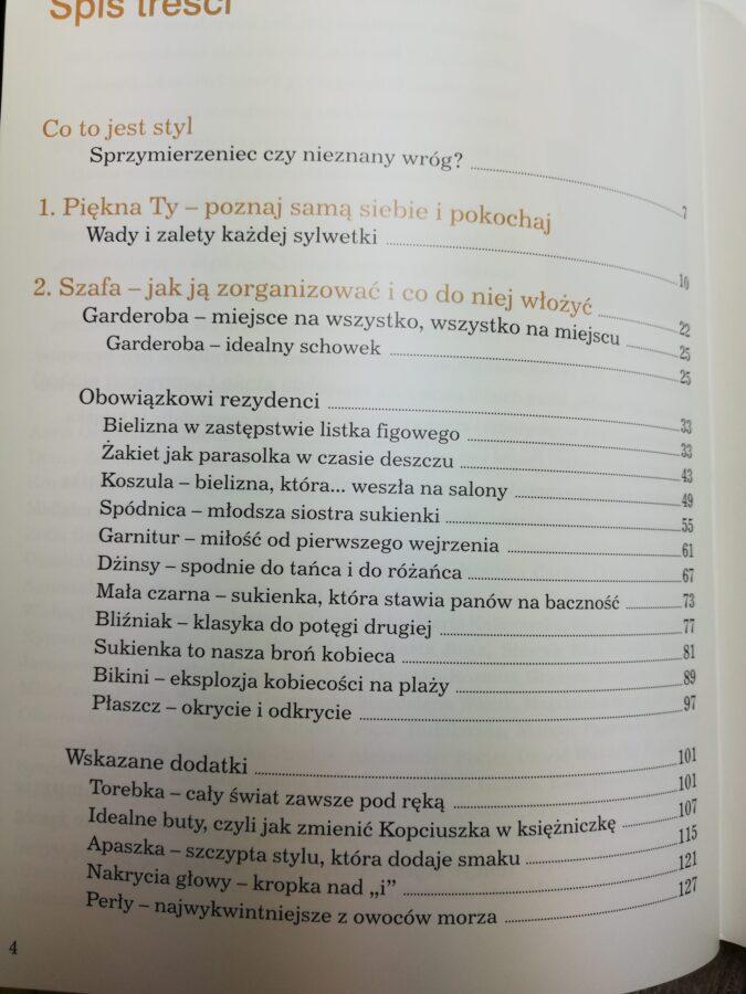Lekcja stylu Jolanta Kwaśniewska spis treści 1