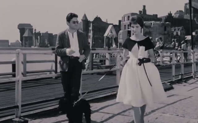 Kobieca rywalizacja o mężczyznę dwoje na moście