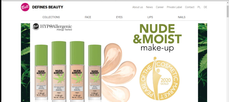 bell fluid z kolekcji Nude&moist