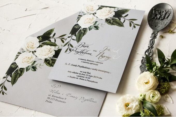 ślub i wesele w wakacje zaproszenie młodych