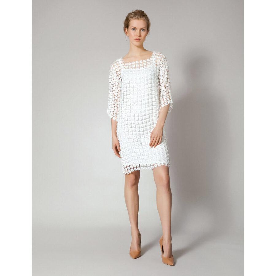 biała sukienka z Molton