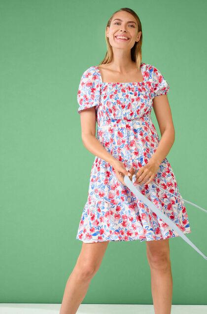 sukienki na lato 2021 sukienka w kwiaty mini