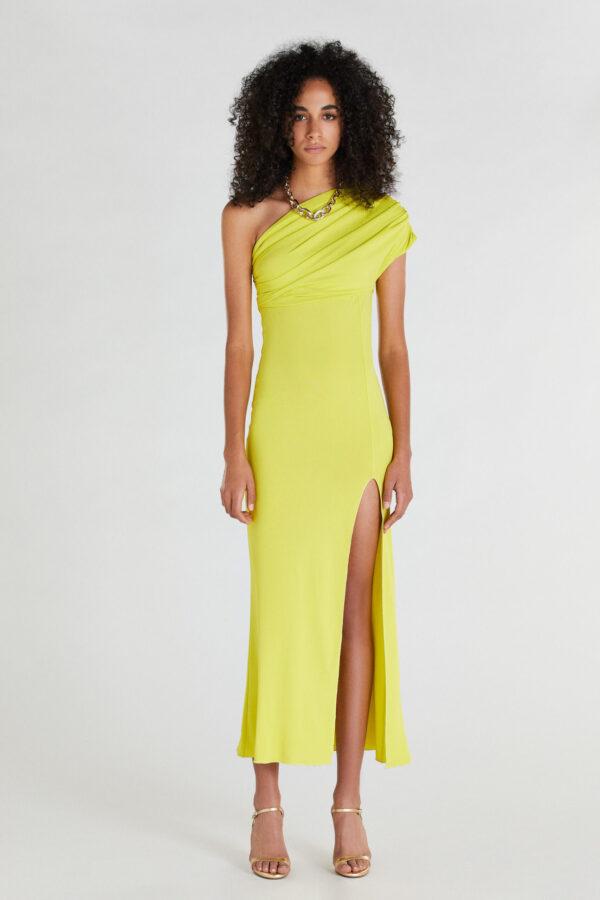sukienki na lato 2021 żółta