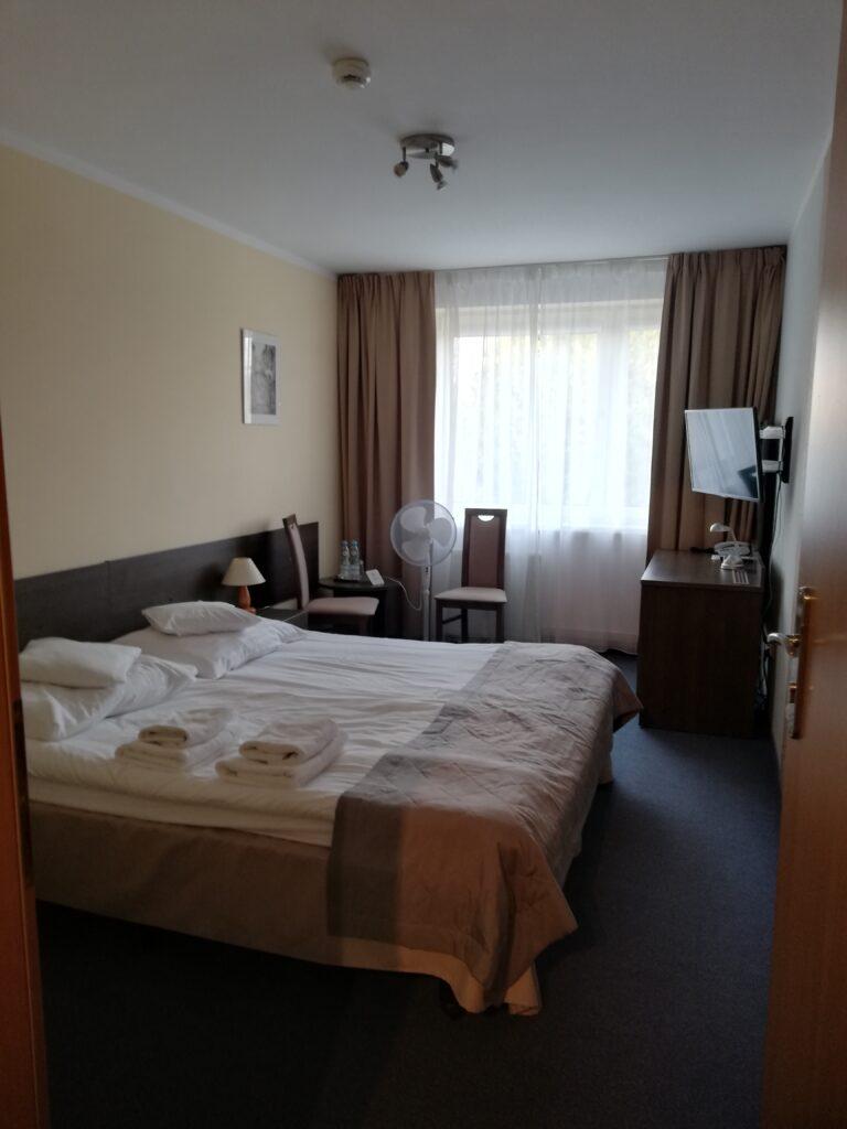 moje wakacje 2021 pokój w hotelu Ikar
