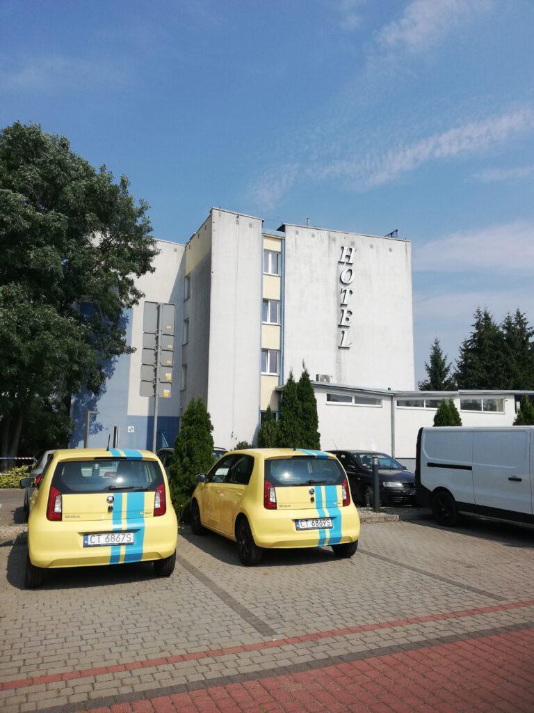 moje wakacje 2021 hotel Ikar w Bydgoszczy