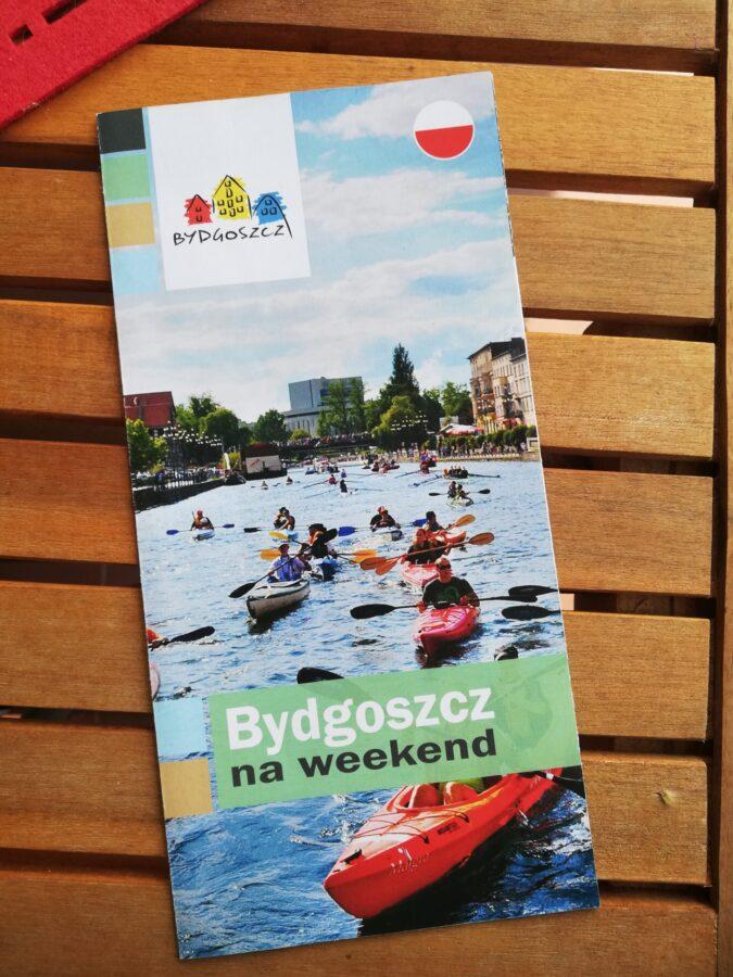 moje wakacje 2021 ulotka z Bydgoszczy