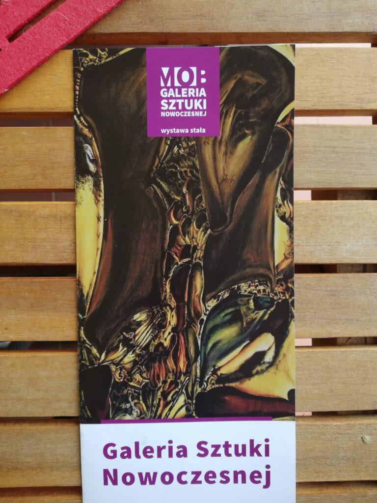 broszura Muzeum Sztuki Nowoczesnej w Bydgoszczy